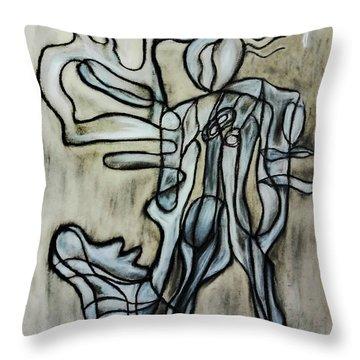 Breezy Dance Throw Pillow