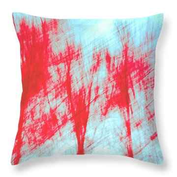 Throw Pillow featuring the photograph Breezy Moment by Ari Salmela