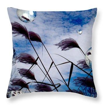 Breezy Throw Pillow by Robert Orinski