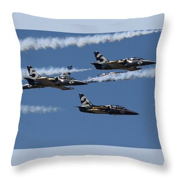 Breitling Convergence Throw Pillow