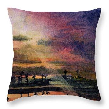Brenda's Bay Throw Pillow