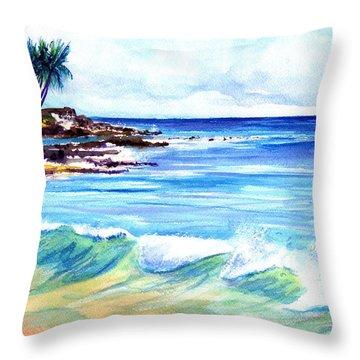 Brennecke's Beach Throw Pillow