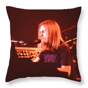 Music- Concert Grateful Dead Throw Pillow