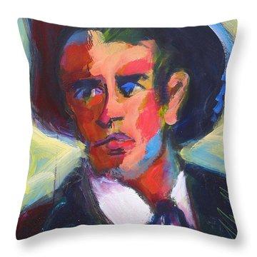 Bret Maverick Throw Pillow