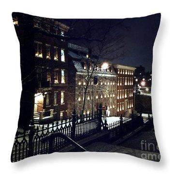 Brethrens House  Throw Pillow