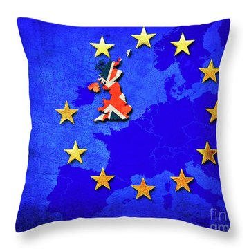 Brexit Throw Pillow