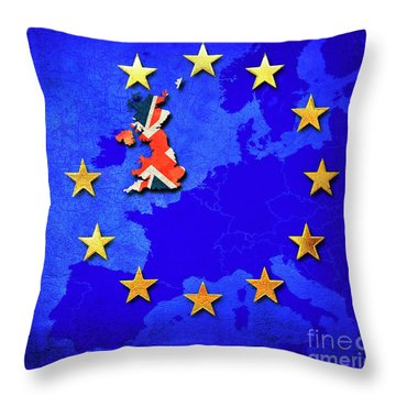 Brexit Throw Pillow