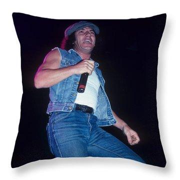 Brian Johnson Throw Pillow