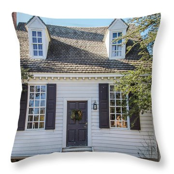Brick House Tavern Shop Throw Pillow