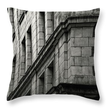 Bricks And Beauty Throw Pillow