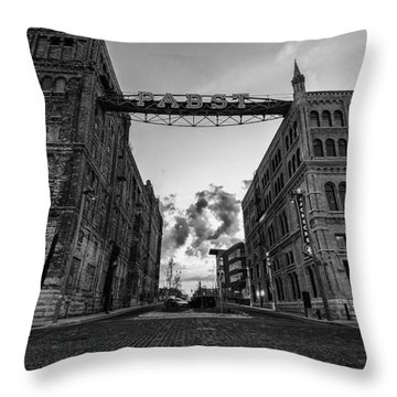 Bricks And Beer Throw Pillow