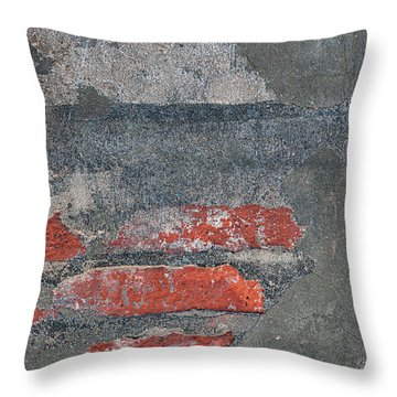 Throw Pillow featuring the photograph Bricks And Mortar by Elena Elisseeva