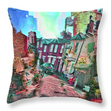 Bricks And Mortar Throw Pillow
