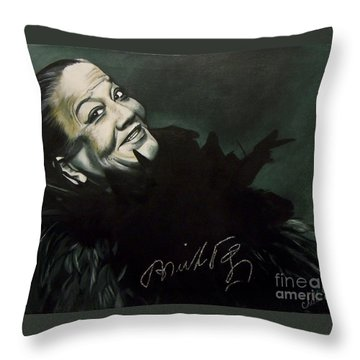 Bricktop Ada Smith Throw Pillow