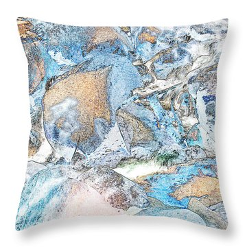 Bridal Veil Fall Throw Pillow