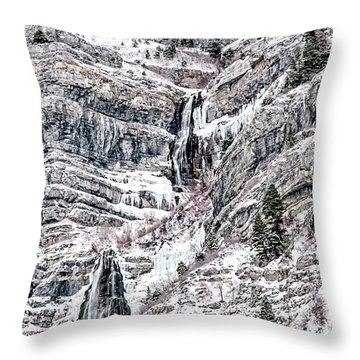 Bridal Veil Falls Canvas Print,photographic Print,art Print,framed Print,greeting Card,iphone Case,s Throw Pillow