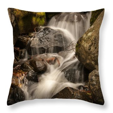 Bridal Veil Water Throw Pillow