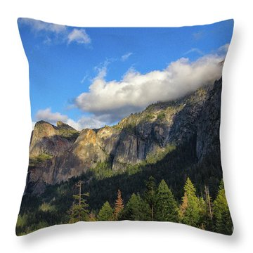 Bridalveil Fall Throw Pillow