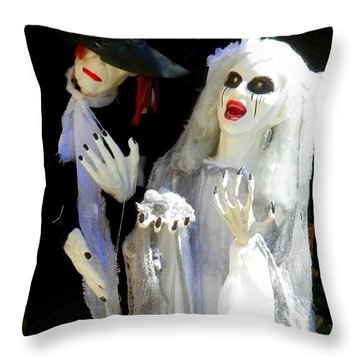 Bridezilla Throw Pillow
