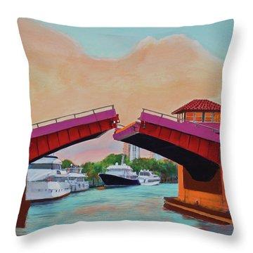 Bridge At Se 3rd Throw Pillow