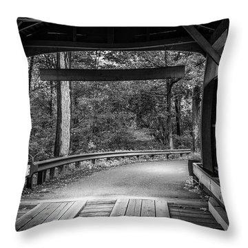Bridge Exit Throw Pillow