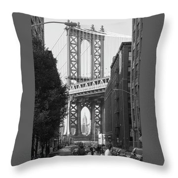 bridge II Throw Pillow
