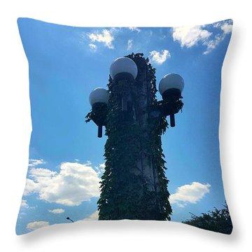Bridge Light Throw Pillow