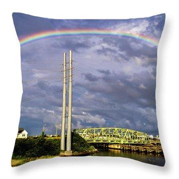 Bridge Of Hope Throw Pillow