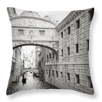 Bridge Of Sighs 5346-2 Throw Pillow