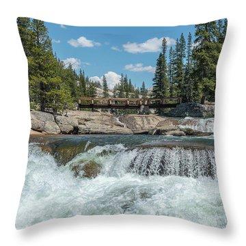 Bridge On The Pct Throw Pillow