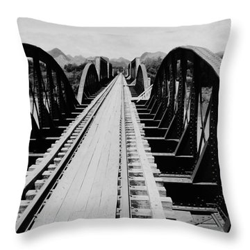Bridge On The River Kwai Throw Pillow