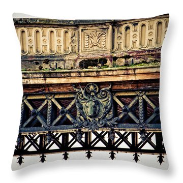 Bridge Ornaments In Germany Throw Pillow