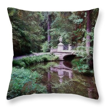Bridge Over Tomorrow Throw Pillow
