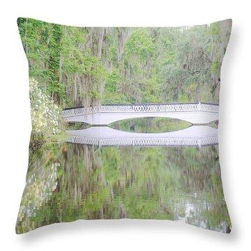 Bridge Over1 Throw Pillow