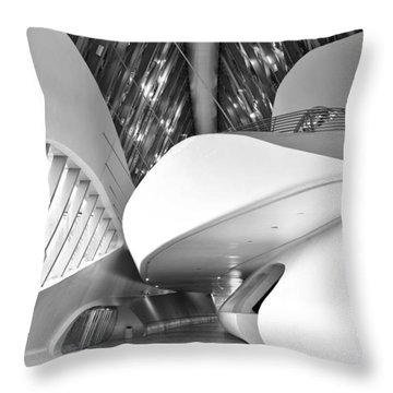 Bridge Pavilion Zaragoza Throw Pillow by Marek Stepan