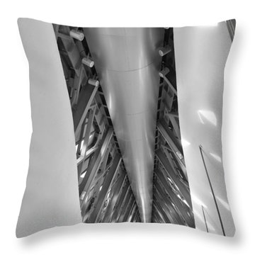 Bridge Pavilion Zaragoza Spain Throw Pillow by Marek Stepan