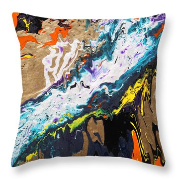 Bridge Throw Pillow by Ralph White