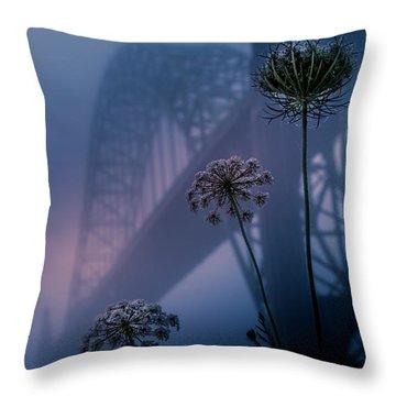 Bridge Scape Throw Pillow
