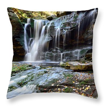 Bridge To Elakala Throw Pillow