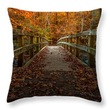 Bridge To Enlightenment 2 Throw Pillow