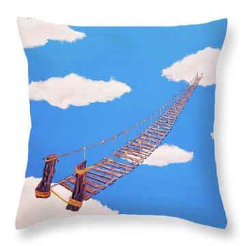 Bridge To Nowhere Throw Pillow