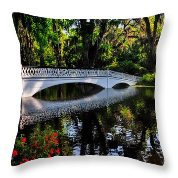 Bridge To Spring Throw Pillow