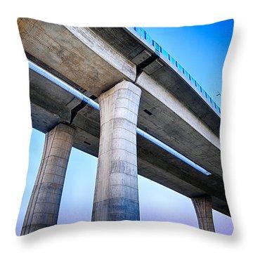 Bridge To The Heaven Throw Pillow