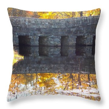 Bridges Reflection Throw Pillow