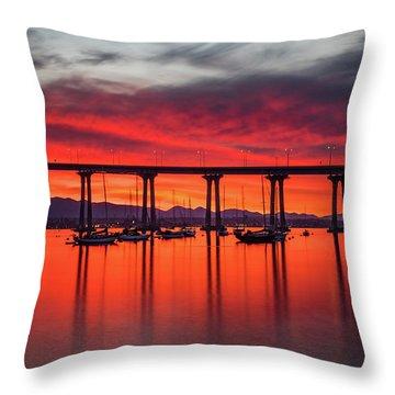 Bridgescape Throw Pillow
