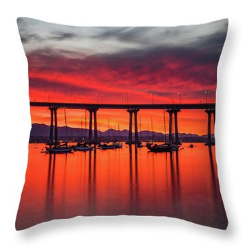 Bridgescape Throw Pillow