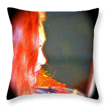 Bridget Law Throw Pillow