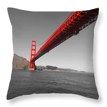 Bridgeworks Throw Pillow