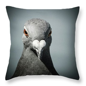 Brieftaube Von Mandy Tabatt Auf Throw Pillow