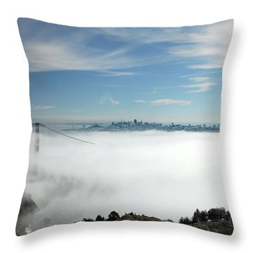 Brigadoon Throw Pillow by Donna Blackhall